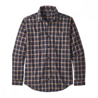 Patagonia M´s L/S Pima Cotton Shirt Hemd New Navy