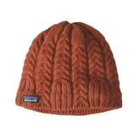 Patagonia Womens Cable Beanie Sunset Orange