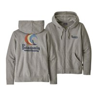 Patagonia Womens Full-Zip Hoodie On Rail Ahnya Drifter Grey
