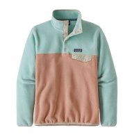 Patagonia Womens Synchilla Fleece Pullover Scotch Pink