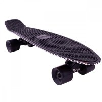 Penny 22 Skateboard Flame Black/ Yellow
