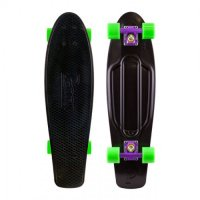 Penny NICKEL 27 Skateboard Black / Purple / Green