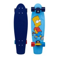 Penny Nickel 27 Skateboard Simpsons Edition Bart