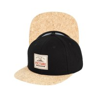 Picture Dixon Kork Cap Snap Back  Black