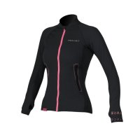 Prolimit Womens SUP Top Loosefit QD Bk/Pi