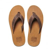 Reef Voyage Zehentrenner Dark Brown/Tan