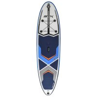 STX Inflatable SUP 106 Freeride Windsurf Blue Orange