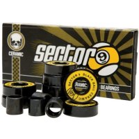 Sector 9 BLACK BALL CERAMIC SPEED Bearings (Satz)