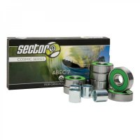 Sector 9 COSMIC Longboard Bearings ABEC 7 (Satz)