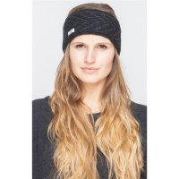Shisha Headband Langeland Black/AnthraciteMelange Uni