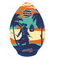 Skimboard SLIDZ 30  76cm Carribean Blau Orange