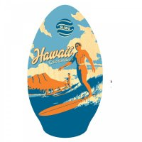 Skimboard SLIDZ 35  90cm Duke Blau Orange