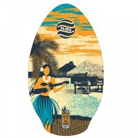 Skimboard SLIDZ 35  90cm Tahiti Blau Orange