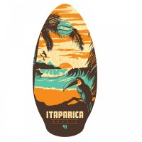 Skimboard SLIDZ 41  105cm Itaparica Orange Aqua