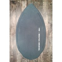 HW-Shapes Sandskim MINIMAL GREY Skimboard READY TO GO