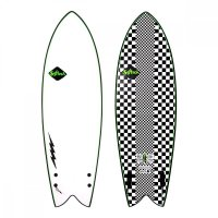 Softech Kyuss Fish 58 Performance Softboard FCS2 Thruster