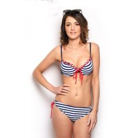 Sun Project Bikini Maritim Stipes Navy