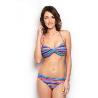 Sun Project Bikini Twist Stripe Color