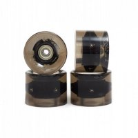 Sunset FLARE LED Street WHEELS (4er Set) 59mm/ 78a SMOKE