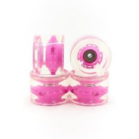Sunset FLARE LED WHEELS (4er Set) 69mm/ 78a Pink
