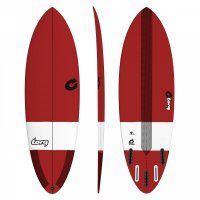 Surfboard TORQ Epoxy TEC Hybrid 6.8 Red