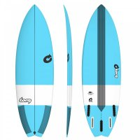 Surfboard TORQ Epoxy TEC Performance Fish 6.6 blue