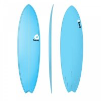 Surfboard TORQ Epoxy TET 7.2 Fish Blue