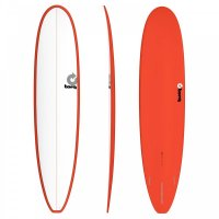 Surfboard TORQ Epoxy TET 8.6 Longboard White Red
