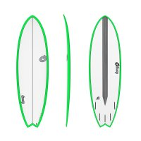 Surfboard TORQ Epoxy TET CS 5.11 Fish Carbon Green