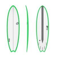 Surfboard TORQ Epoxy TET CS 6.6 Fish Carbon Green