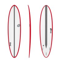 Surfboard TORQ Epoxy TET CS 7.2 Fun Carbon Red