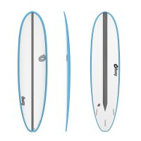 Surfboard TORQ Epoxy TET CS 7.4 VP Fun Carbon Blue
