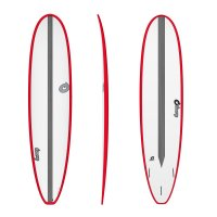 Surfboard TORQ Epoxy TET CS 8.0 Long Carbon Red