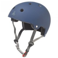 Triple 8 BRAINSAVER Skatehelm Blue/Rubber