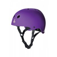Triple 8 BRAINSAVER Skatehelm Purple/Rubber