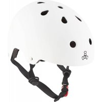 Triple 8 Brainsaver Skatehelm White