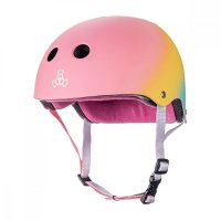 Triple 8 Certified Sweatsaver  verstellbarer Skatehelm...