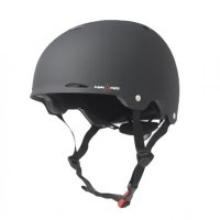 Triple 8 GOTHAM verstellbarer Skatehelm Black/Rubber