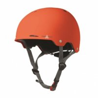 Triple 8 GOTHAM verstellbarer Skatehelm Orange/Rubber