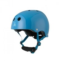 Triple 8 LIL8 verstellbarer Kinder-Skatehelm Blue / Gloss