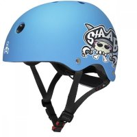 Triple 8 LIL8 verstellbarer Kinder-Skatehelm Neon Blue...
