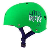 Triple 8 Little Tricky Kids Helm Green