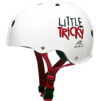 Triple 8 Little Tricky Kids Helm Weiß