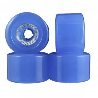 Tunnel Wheels FUNNEL (4er Set) 77mm/75a Clear Blue