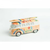 VW T1 Surf Bulli Spardose Hippie Orange