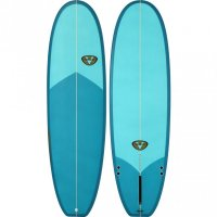 Venon EVO 64  Tinted Blue Single Fin Glassboard