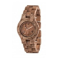 Wewood Criss Echtholzuhr Wave Nut Rough