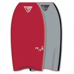 FLOOD Bodyboard Prism Stringer PE 44 Rot