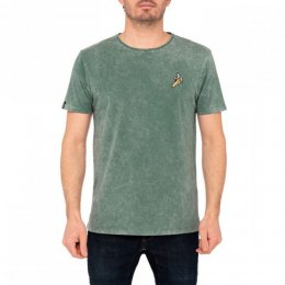 Pullin Shirt Patchbanan Washed Green
