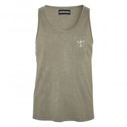 Chiemsee Tank Top Silver Sands Dusty Olive